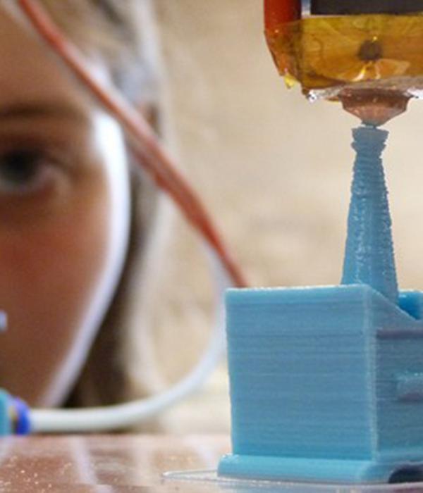 oeil imprimante 3D